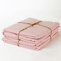 Linen Flat Sheet | Best Summer Sheet | Rose - linenshed