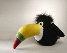 Terrance the Toucan Plushie by ~Saint-Angel on deviantART