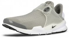 Nike Men's Sock Dart Running Shoes 819686 002 Medium Grey/Black/White #NikeAir #RunningCrossTrainingSneakers