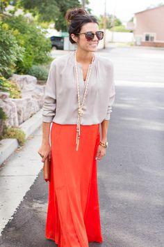 Ann taylor skirt, Vince shirt