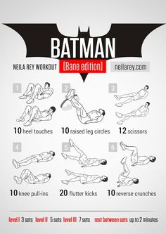 Batman [Bane Edition] Workout - plus dozens of other workout routines
