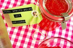 Aperol Spritz Gelee mit Aprikosen