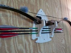 Arrow Head Bow Rack