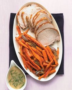 """See the """"Roast Pork Loin with Carrots and Mustard Gravy"""" in our Quick Pork Recipes gallery"""