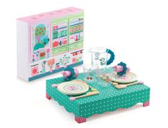 DJ6617 - Lunch Time Roleplay Set by Djeco. Distributed by Kaleidoscope.