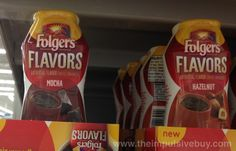 SPOTTED ON SHELVES: Folgers Flavors Coffee Enhancers Impulsive Buy, Boom Boom, Grocery Store, Mocha, Yummy Food, Shelves, Foods, Drink, Coffee