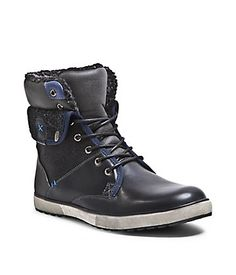reputable site 7fb63 d6736 BRENTT-F - Featuring distinctive detailing, Madden s lace-up BRENTT-F boots  will stand apart from the rest.