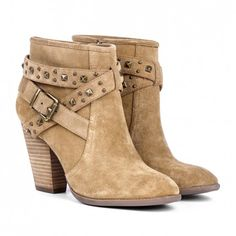 I like this color too. Sole Society - Stud detail booties - Kita