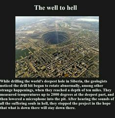 Listen to the Well to Hell , one of the freakiest audio recordings to ever be broadcast on radio as an alleged true event. You really hear people screaming!
