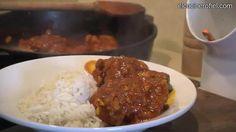 Receta de pollo con curry casero: http://www.recetascomidas.com/videos/video_de/receta-pollo-con-curry-casero