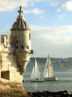 Torre de Belém - Lisboa city, Lisbon - Portugal* Been here, its gorgeous Belem Portugal, Spain And Portugal, Portugal Facts, Places Around The World, Oh The Places You'll Go, Places To Travel, Places To Visit, Portugal Vacation, Lisbon Portugal