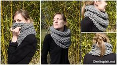alexia dives posted Gilet Point de riz 2009 to their -knits and kits- postboard via the Juxtapost bookmarklet. Diy And Crafts Sewing, Neck Warmer, Knitting Projects, Diy Fashion, Knit Crochet, Textiles, My Style, Bonnets, Lany