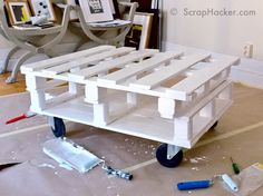 D.I.Y Pallet Coffee Table – A 7-step Tutorial