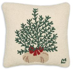 Hand Hooked Wool Pillows - Chandler 4 Corners