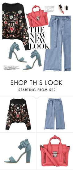 """""""The new look"""" by punnky ❤ liked on Polyvore featuring 3.1 Phillip Lim and Haute Hippie"""