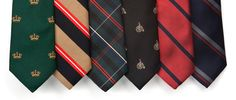 Old School style. The trendy tie selection you must have.