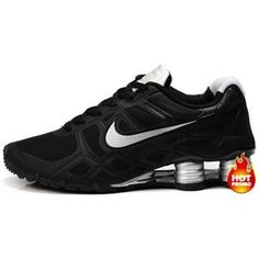 Nike Shox -Turbo12 Men Black-Grey Nike Shoes Outlet b49258094