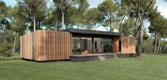 French architecture firm Multipod Studio has come up with a revolutionary housing prototype – the PopUp House. This unique dwelling comes in the form of stackable blocks that anyone can put together … French Architecture, Architecture Design, Contemporary Architecture, Popup House, Lego House, Casa Pop, Building A Container Home, Passive House, Prefab Homes