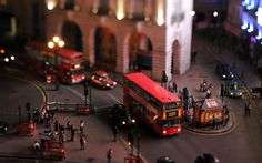 tilt shift london