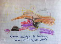 El pequeño´gran dibujo de Mario, todo un artista a sus 4 añitos, con su colorido nos alegra el corazón, además ha trabajado mucho.. Muchas gracias Mario, un besin.