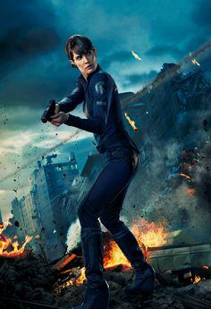 Agent Maria Hill S.H.I.E.L.D.