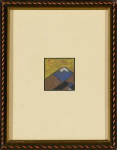 Santa Fe Mountains Color Study for Courthouse Mural ** Check out the image by visiting the link.