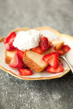 Paula Deen Double Strawberry Shortcake