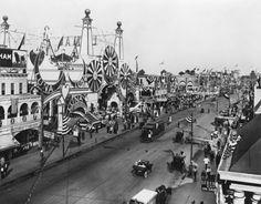 Coney Island, Luna Park and Surf Avenue, 1912 - 20x200