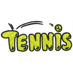 ThreadArt - Machine Embroidery Designs - Tennis(1)
