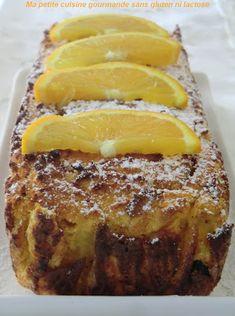 Cake à la patate douce, orange et cranberries sans gluten, sans lactose et sans sucre ajouté