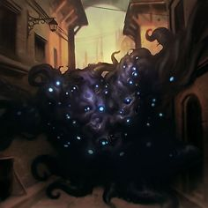 The World of Lovecraft Call Of Cthulhu, Cthulhu Art, Lovecraft Cthulhu, Hp Lovecraft, Paladin, Lovecraftian Horror, Eldritch Horror, Dark Fantasy Art, Fantasy Inspiration