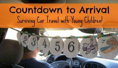 Great idea....plus car bingo, activity binder w/zip pouches for art supplies