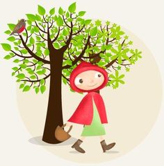 Le Petit Chaperon Rouge - story and audio in French.