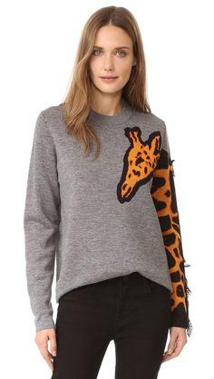 Paul Smith Giraffe Sweater