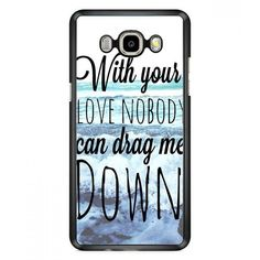 One Direction Drag Me Down Lyric Samsung Galaxy J7 (2016) Case | Aneend.com