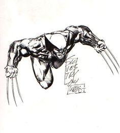 Wolverine sketch by Marc Silvestri