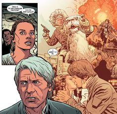 Han Solo And Chewbacca, Han And Leia, Star Wars Canon, War Comics, Graphic Artwork, Reylo, Princess Leia, Star Wars Art, Nerd
