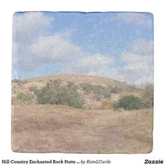 Hill Country Enchanted Rock State Natural Area Tx Stone Beverage Coaster