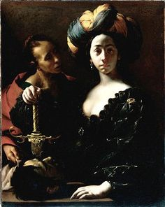 Judith with the Head of Holofernes by Francesco del Cairo, 1630-1635