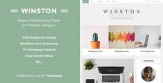 Responsive WordPress Blog Theme - Winston . Responsive has features such as Widget Ready: Yes, Compatible Browsers: IE10, IE11, Firefox, Safari, Opera, Chrome, Edge, Software Version: WordPress 4.7.x, WordPress 4.6.1, WordPress 4.6, Columns: 2