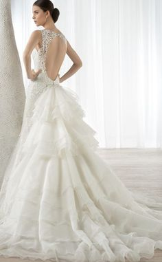 Wedding dress idea; Featured Dress: Demetrios