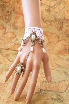 Lolita White lace Jewelry