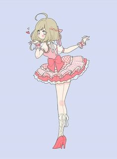 Cute Kawaii Girl, Kawaii Anime Girl, Anime Art Girl, Arte Do Kawaii, Kawaii Art, Fantasy Character Design, Character Design Inspiration, Cute Art Styles, Korean Art