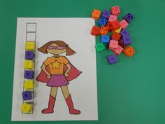 Measuring Super Friends- could use with lots of cartoons Superhero Preschool, Superhero Classroom, Preschool Themes, Preschool Math, Superhero Party, Superhero Ideas, Eyfs Classroom, Batman Party, Kindergarten Math