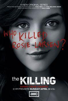 The Killing. Great drama. Looking forward to the new season.