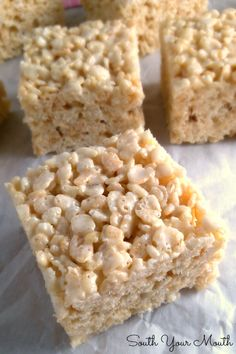 Best EVER Rice Krispie Treats… These aren't your plain-jane, back-of-the-box-recipe crispy rice treats. Best EVER Rice Krispie Treats… These aren't your plain-jane, back-of-the-box-recipe crispy rice treats. Just Desserts, Dessert Recipes, Kreative Desserts, Candy Melts, Dessert Bars, Christmas Baking, Christmas Candy, Sweet Recipes, Baking Recipes