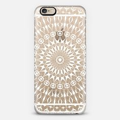 Check out my new @Casetify using Instagram & Facebook photos. Make yours and get $10 off using code: WTMAF6         white Mandala iPhone 6 case by Julia Grifol Diseñadora Modas-grafica | Casetify, white #mandala #transparent #iphone #case #design #