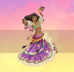 Disney Belly Dancers: Dance la Esmeralda! by Blatterbury on DeviantArt