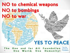 As a CSO, The One and for All Foundation is concerned about the attacks that occurred yesterday in Syria, we condemn this situation and hope that peace, fraternity and harmony will prevail for the development of syrian cirizen and the life of the entire world.  The One and for All Foundation One World, One Humanity!  #peace #paz #peaceforall #pazparatodos #peaceforsyria #pazparasiria #nowar #nobombings #nochemicalweapons #theoneandforallfoundation #oneandforall
