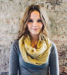 Mustard Yellow Infinity Scarf - Of The Spicy Variety